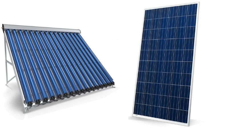 Solar PV vs Solar Thermal Hot Water