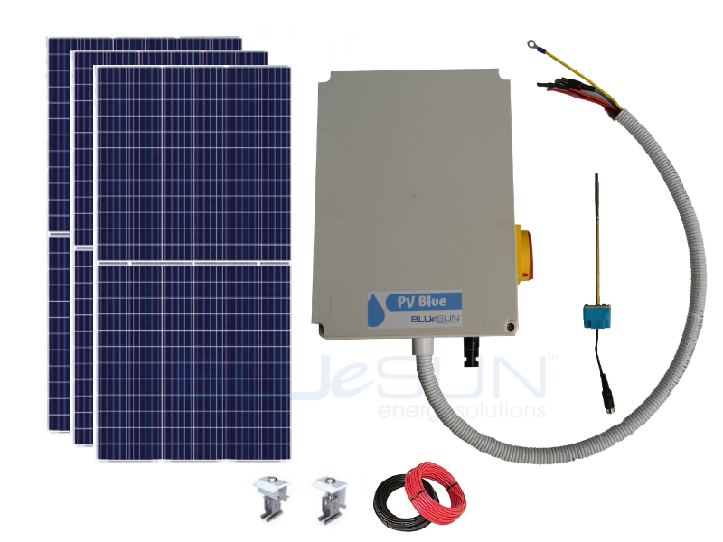 PV Blue - 150L Solar Hot Water System
