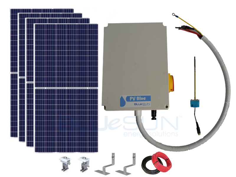 PV Blue - 200L Solar Hot Water System - Tiled Roof