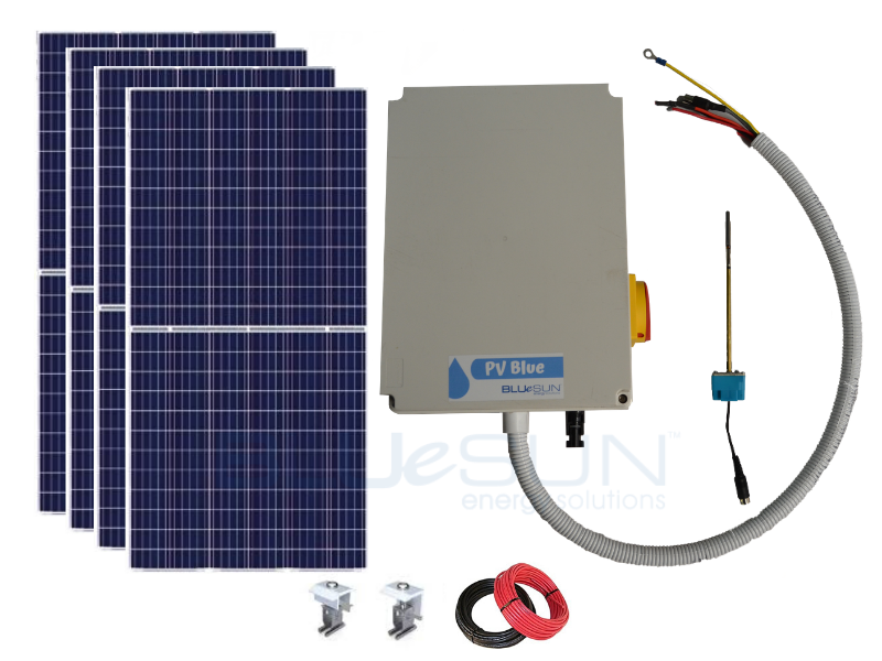 PV Blue - 200L Solar Hot Water System