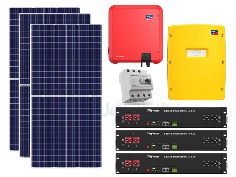 5kWp SMA Package with 10kWh Lithium Battery
